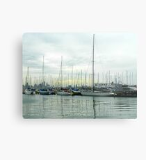 Late afternoon view of Williamstown Harbour Metal Print