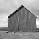 Bothy, Glen Quaich, mono IV. by YvonneHair