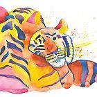 Cuddling Tigers  by Niina Niskanen