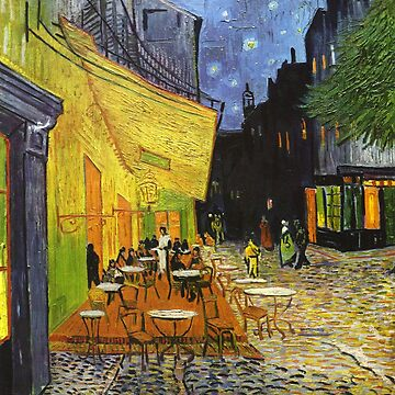 Cafe terrace at night, Vincent Van Gogh by fourretout