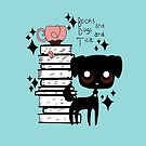 Books and Dogs and Tea by Che Gilson