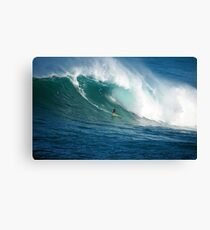Waimea Bay Hawaii Canvas Print