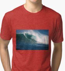 Waimea Bay Hawaii Tri-blend T-Shirt