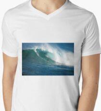Waimea Bay Hawaii Men's V-Neck T-Shirt