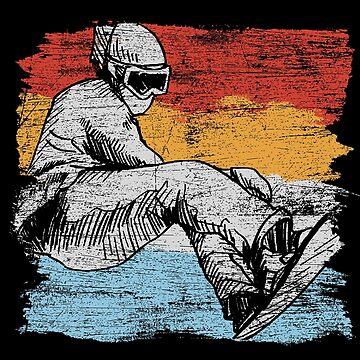 Snowboarding freedom by GeschenkIdee