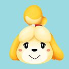 Isabelle Animal Crossing by doodlecarrot