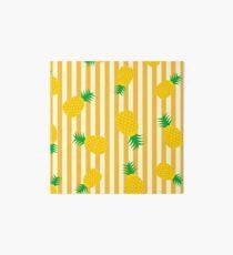 Ananas - Streifen Galeriedruck