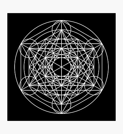 Metatron's Cube Expanded 001 Photographic Print