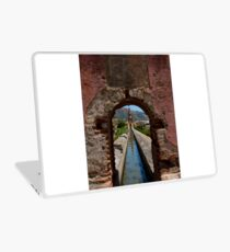 Aqueduct in Maro Laptop Skin