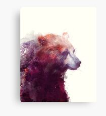 Bear // Calm Metal Print