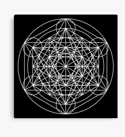 Metatron's Cube Expanded 002 Canvas Print