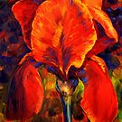 The Red Iris by sesillie