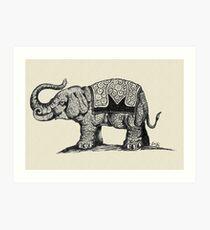 Elephant (Ellyphant) V2 Art Print