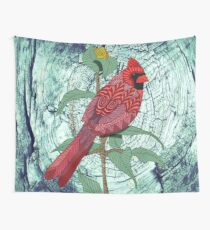 Virginia Cardinal Wall Tapestry