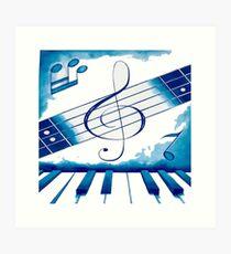 Música total Art Print