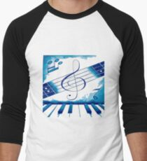 Música total Baseball ¾ Sleeve T-Shirt