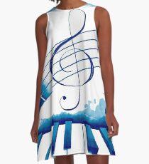 Música total A-Line Dress