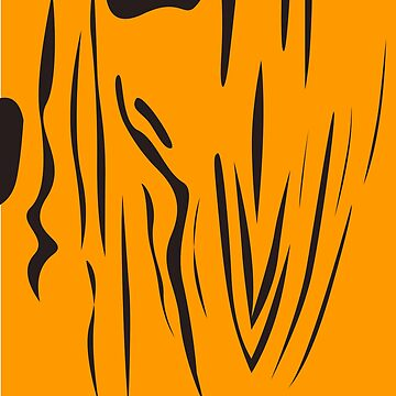 design ink lines : gold, tiger by wellnessSisters
