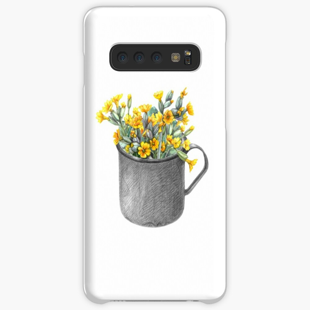 Mug with primulas Case & Skin for Samsung Galaxy