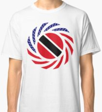 Trinidadian American Multinational Patriot Flag Series Classic T-Shirt