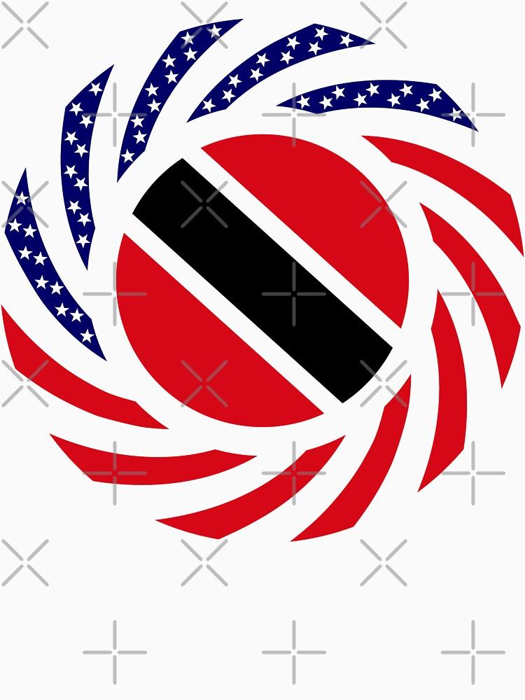 Trinidadian American Multinational Patriot Flag Series by carbonfibreme