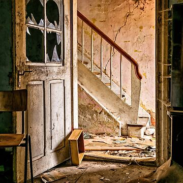 Abandoned Places Open Doorway by mia-scott