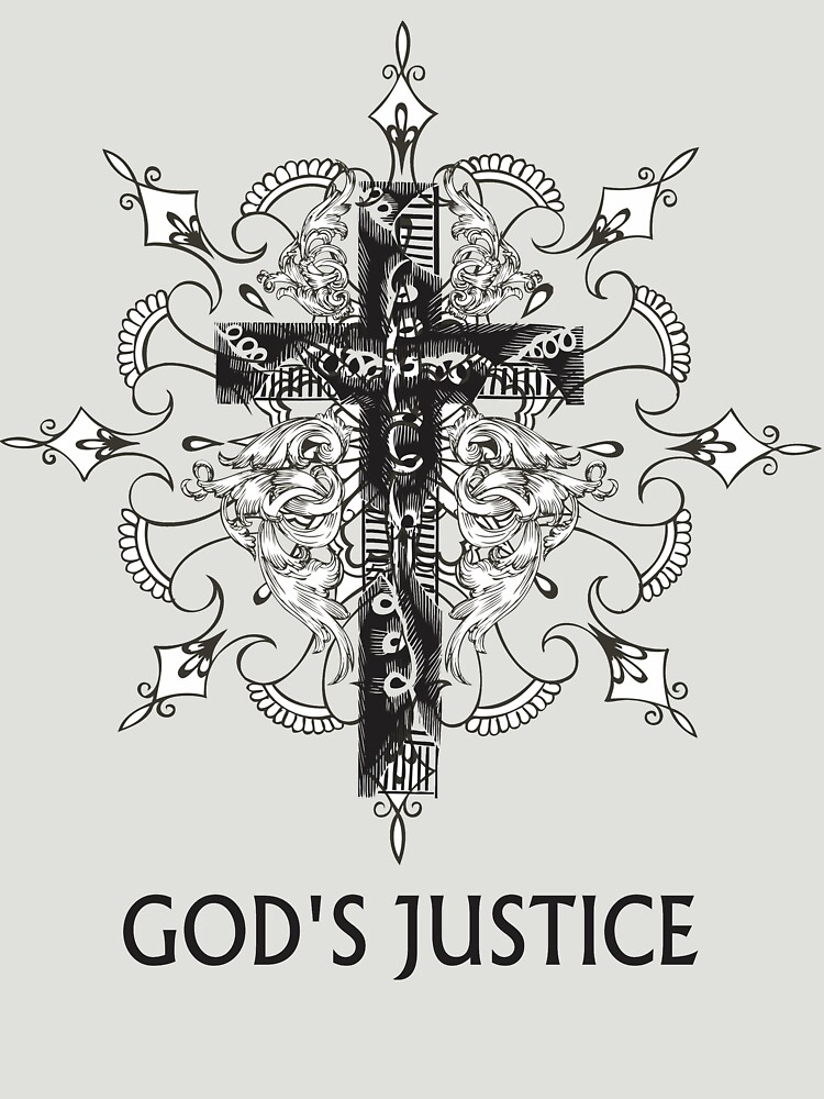 T-Shirt God's justice by albertosm