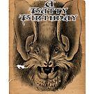Have A Batty Birthday by GothCardz