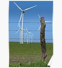 Fencepost in a Field of Giants Poster