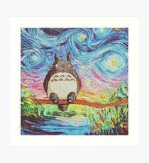 Totoro 3 Art Print