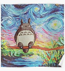 Póster Totoro 3