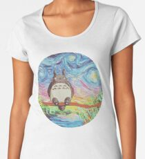 Totoro 3 Women's Premium T-Shirt