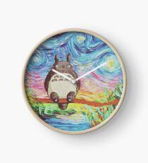 Totoro 3 Clock