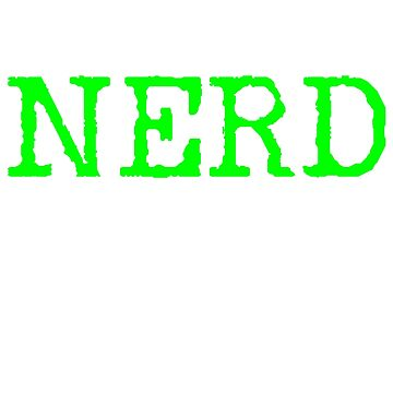 Nerd computer science by 4tomic