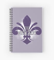 The Three Musketeers Spiral Notebooks Redbubble