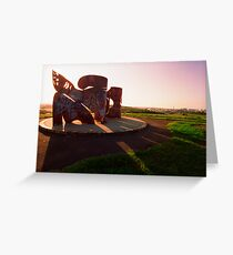 Sydney Park sculpture Greeting Card