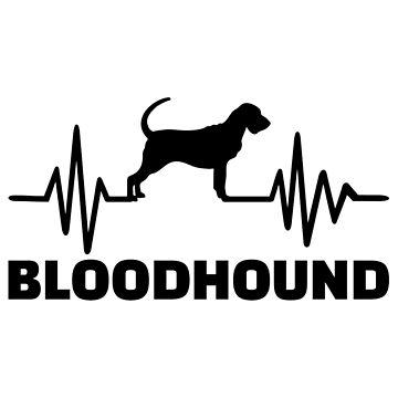 Heartbeat Bloodhound by Designzz