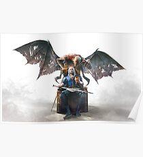 Geralt Witcher 3 Art Poster