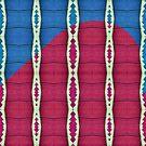 «Cadenas bicolor azul y rosa» de Lori Kingston