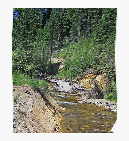 Montana Stream II Poster