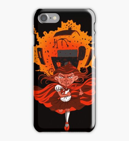 Don't mess with Lil' Red!  iPhone Case/Skin