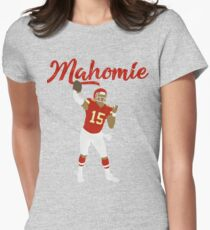 Patrick Mahomes (Mahomie) Women's Fitted T-Shirt
