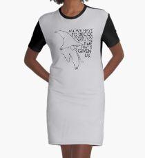 Gandalf the Grey Graphic T-Shirt Dress