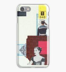 Navy Cut iPhone Case/Skin