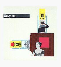 Navy Cut Photographic Print