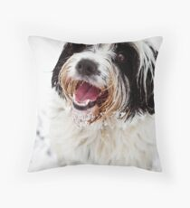 Archies Likeses Snows Throw Pillow