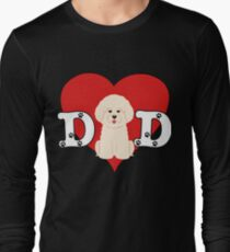 Dad Bichon Frise - Gift For Bichon Frise Lover Long Sleeve T-Shirt