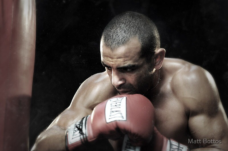 "Sam ""King"" Soliman by Matt Bottos"