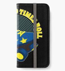 Rollschuhe iPhone Flip-Case/Hülle/Klebefolie