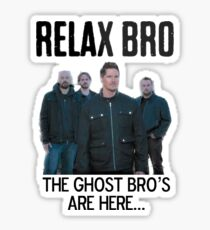 Ghost Bros Sticker